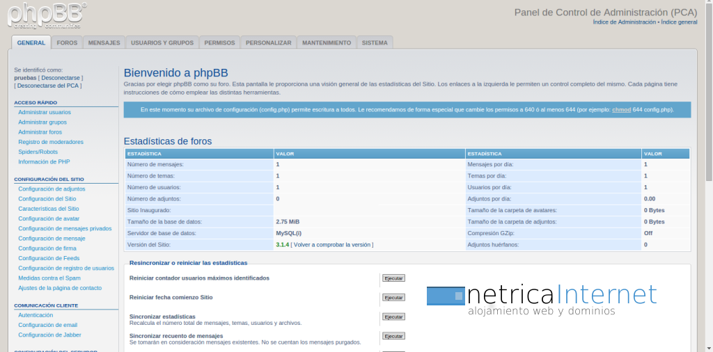 Guías phpBB3: ver información de usuarios en phpBB - NETRICA®