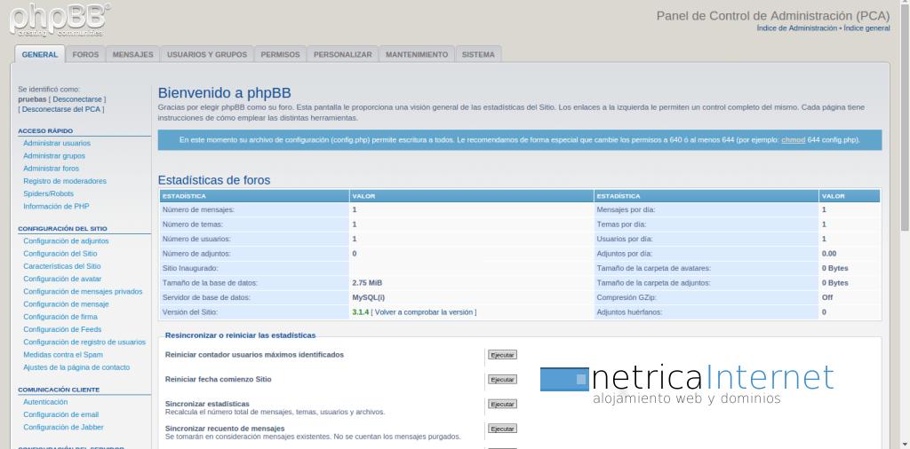 Guías phpBB3: cómo deshabilitar las firmas de tus usuarios en phpBB ...