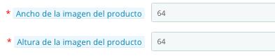 mModificar el tamaño de las imágenes de los productos en PrestaShop
