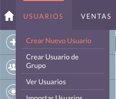 Crear un nuevo usuario en SuiteCRM
