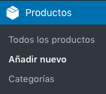 Crear producto agrupado en WooCommerce