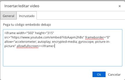 Insertar un video de Youtube dentro de un producto en PrestaShop